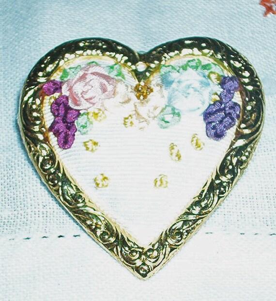 Silk Ribbon Embroidery Pin
