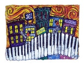 Music City New Orleans Jazz LARGE PRINT