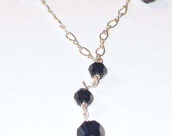 Feeling Blue Necklace