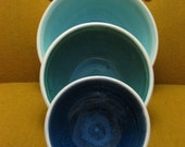 Nesting Prep Bowls in Marine