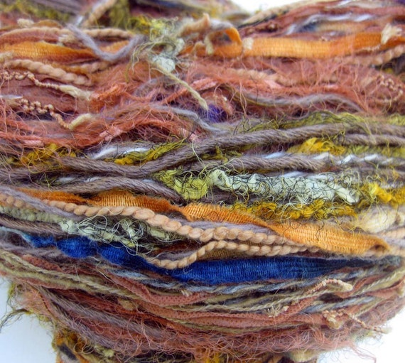 Marrakesh component yarn, handmade