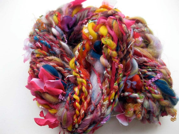 handspun art yarn: Henry Darger's Vivian Girls go out to play