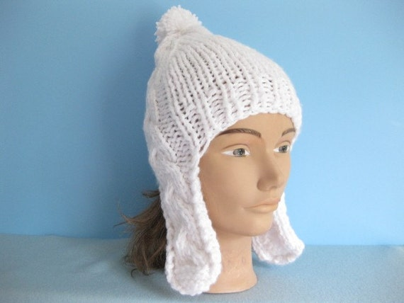 Youth or Ladies Earflap Hat