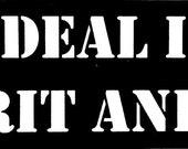 Kim Deal Is My Spirit Animal Sticker