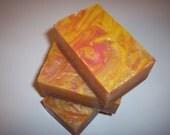Tropical Sweets- Homemade Soap-Vegan-5 to 6 oz Bar