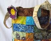 Large , Batik Tote Bag