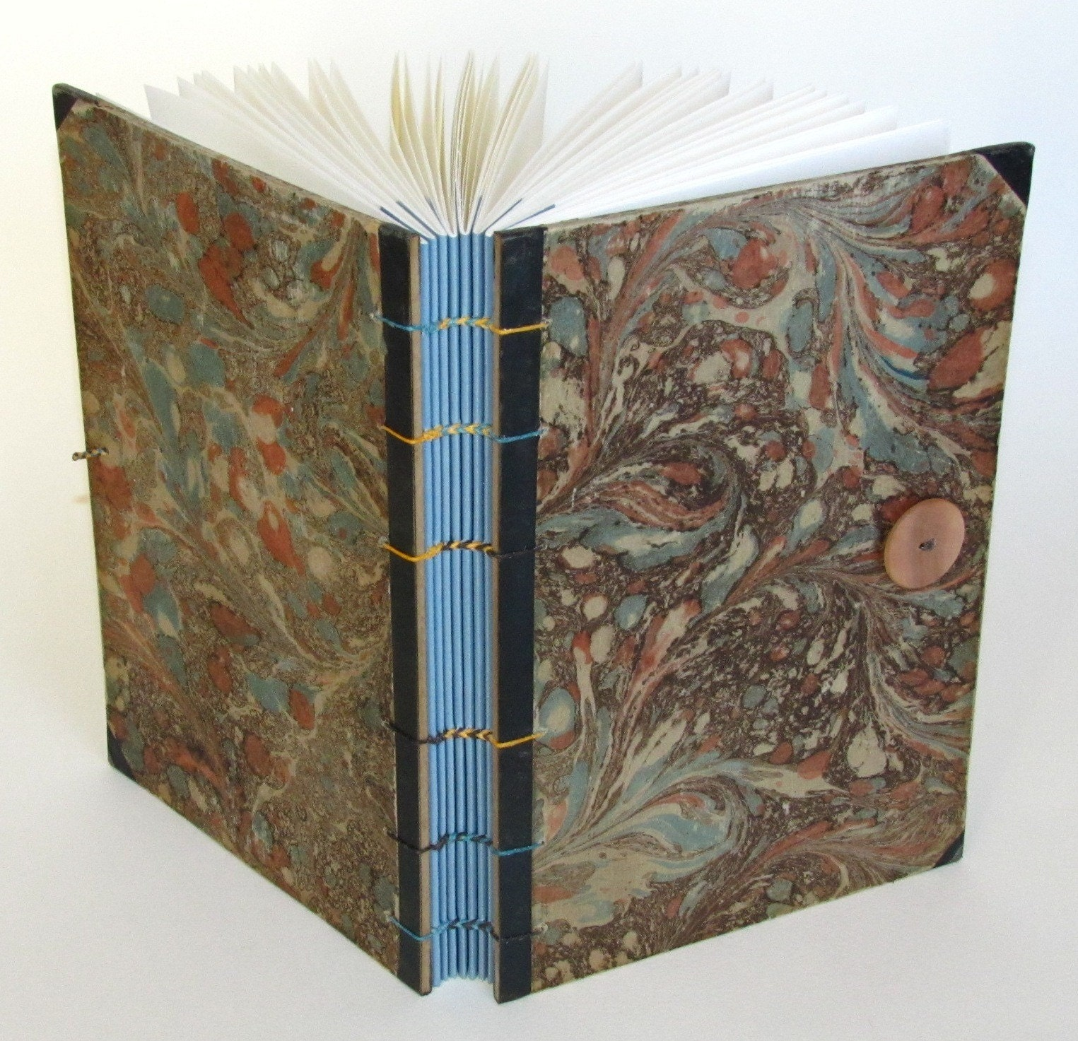 Large Blank Journal Made with Antique Book Cover