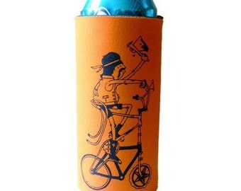 Tall Bike Tall Boy Koozie