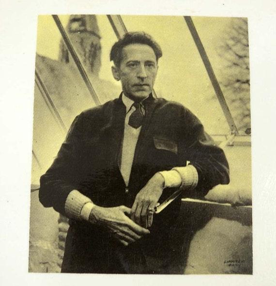 Vintage Jean Cocteau Opera Suivi De Plain Chant french language book