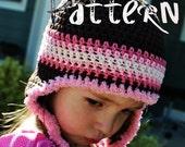PDF Crochet Pattern - Flappy Beanie