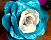 Beautiful Hand Made Duct Tape Rose