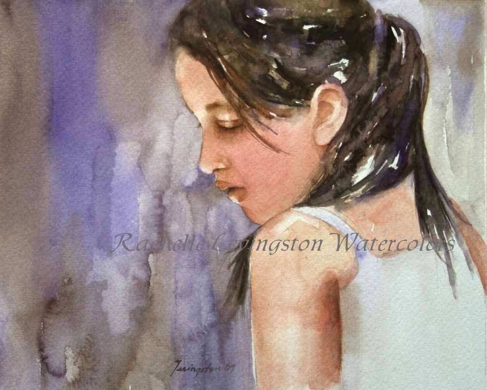 Realistic Watercolor Portraits Watercolor Portrait Painting