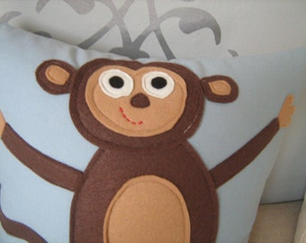 Silly Monkey Pillow