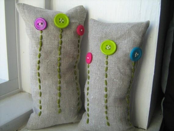 Cute as a Button Flower Bean Bags