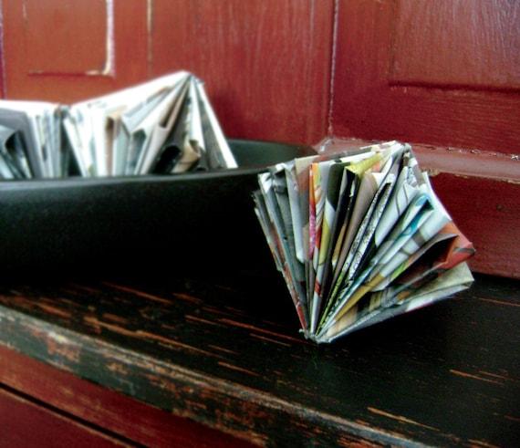 3 Paper Sculptures