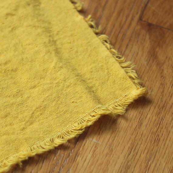 Hemp Fabric Organic Cotton SUNSHINE hand dyed