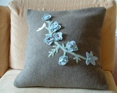Pillow wool and felt  FREE SHIPPING