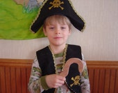 Pirate Hook  wooden toy for dress up