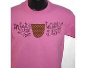 Your Wildest Dream Azalea Pink Tee from Monster a la Mode