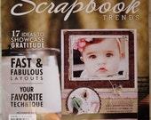 Scrapbook  Trends November 2010