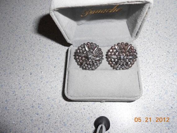 Vintage CUT Steel Buttons  Silver Color