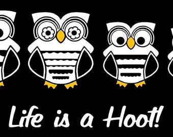 Owl Family Car Decal Sticker Custom Made