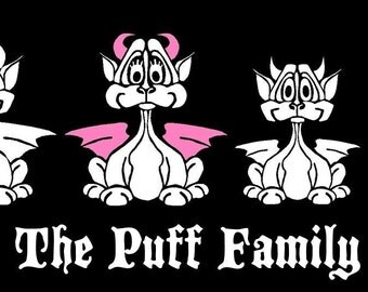 Dragon Family Car Decal Sticker Custom Made for Alison Woolley