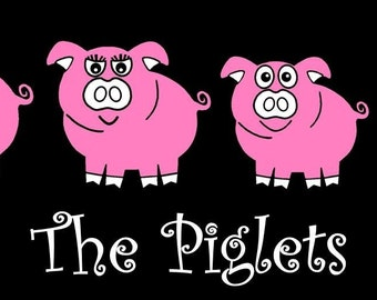 Pig Family Car decal Sticker Custom Made
