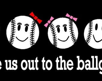 Baseball Family Car Decal Sticker Custom Made