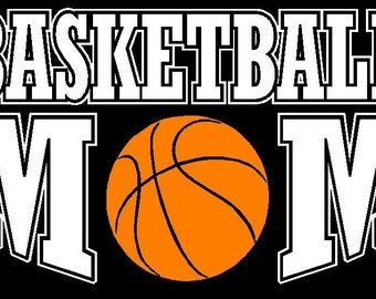 Basketball Mom Car Decal Sticker Custom Made