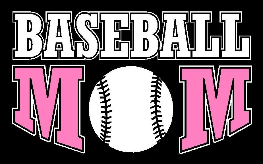 Baseball Mom Car Decal Sticker Custom Made By Stickersbydesign