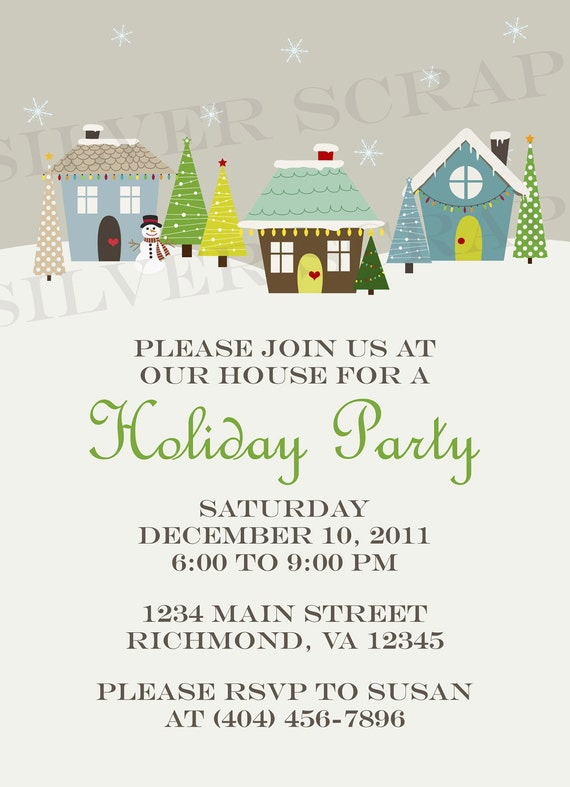 Christmas Potluck Invitation Ideas is beautiful invitation example