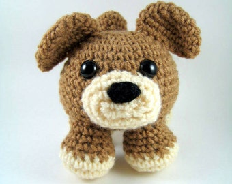 Big Max, a Dog - Crochet Pattern - PDF File