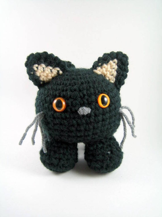 Amigurumi Black Cat Pattern : Mugsy an amigurumi cat Crochet Pattern PDF File by mutts ...