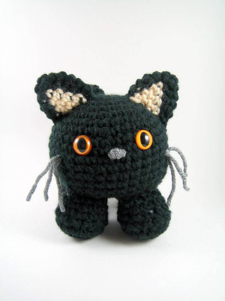 Mugsy an amigurumi cat Crochet Pattern PDF File by mutts ...