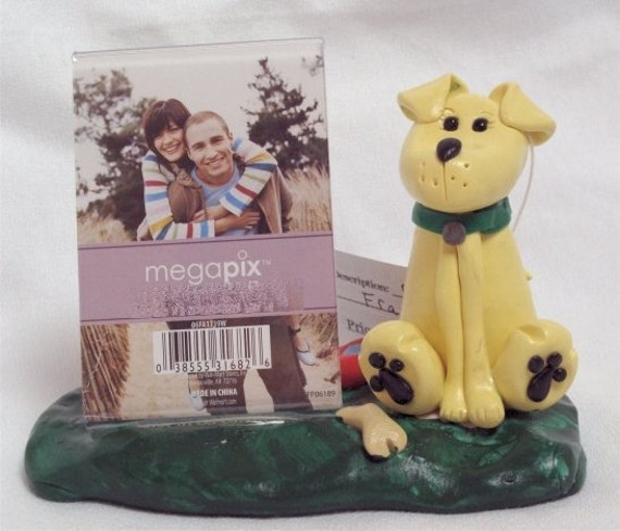 Custom yellow Lab (or other breed) Picture frame