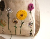 organic kids messenger bag / hope in the autumn eco friendly accessory (last 1)