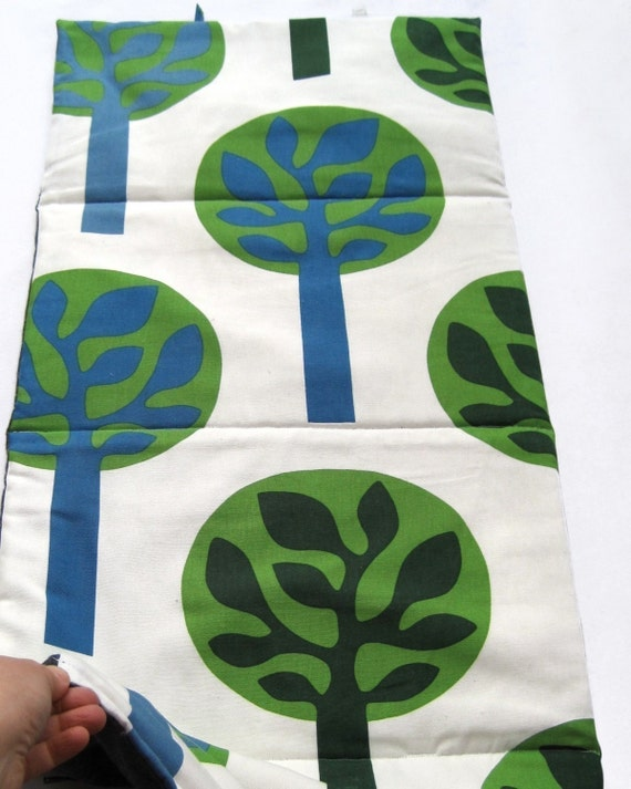 Reserved for lakshmimantha - Nap Mat - eco friendly preschool nap mat for modern toddlers kids in green trees