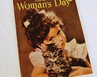 Magazine 1949 Woman's Day