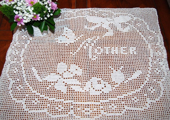 Mom Shabby Chic Crochet