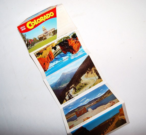 Colorado Vintage Postcards