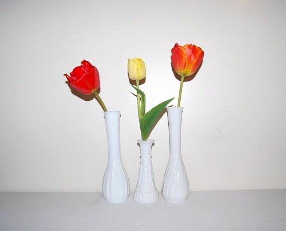 Vintage Shabby Chic Vases