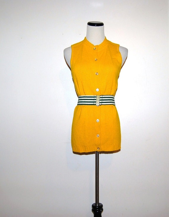 Boyfriend Vest with Belt