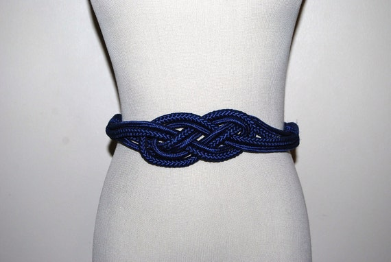 Retro Royal Blue Belt
