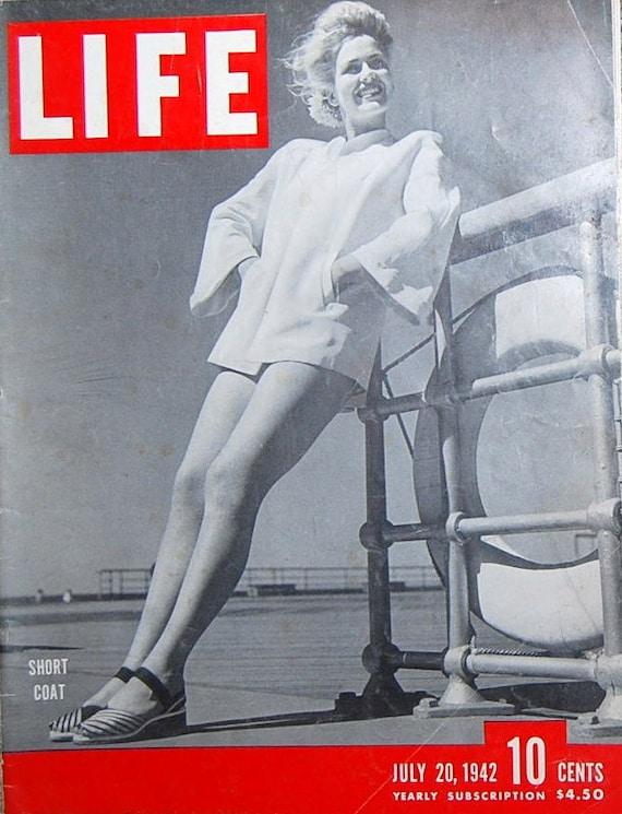 Life Magazine July 20. 1942