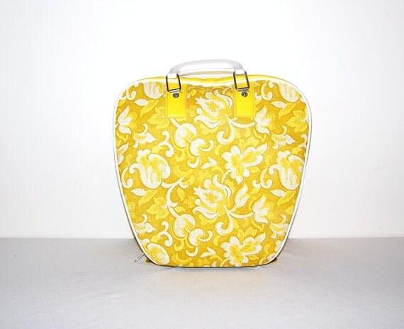 Rockabilly Yellow Bowling Bag