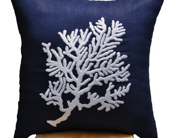 Popular Items For Coral Reef Pillow On Etsy