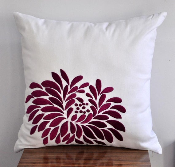 Purple And White Decorative Pillows : Unavailable Listing on Etsy