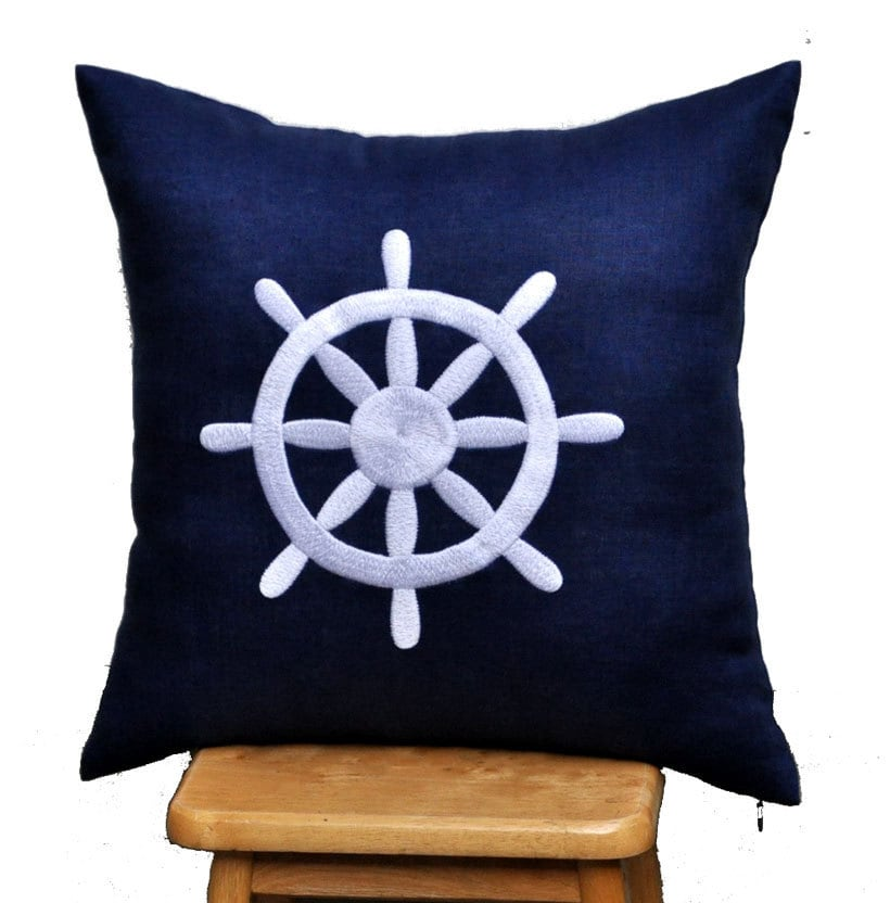 Popular items for nautical pillow on Etsy