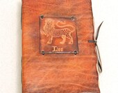 LEO Horoscope Leather Journal.